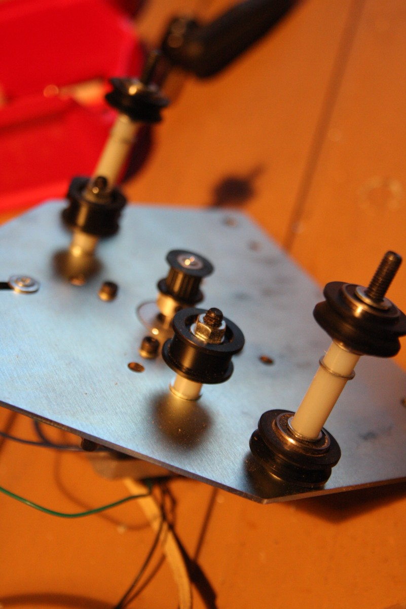 Modification pour double axe X avec cales nylon