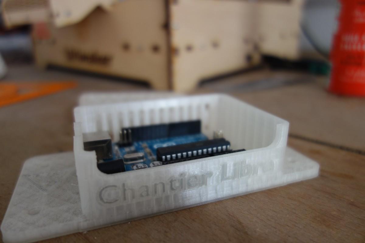 Boitier pour Arduino et Grbl