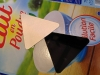 Essai sur emballage de lait en poudre