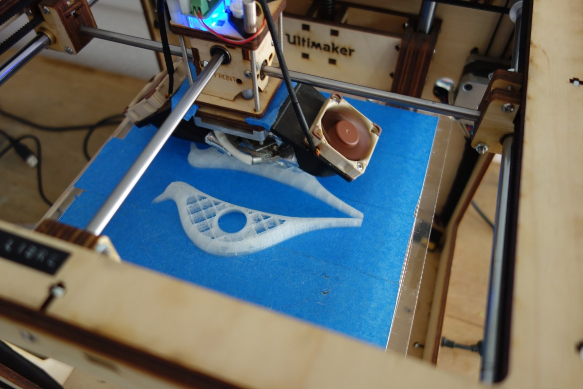 Eames Bird, impression 3D