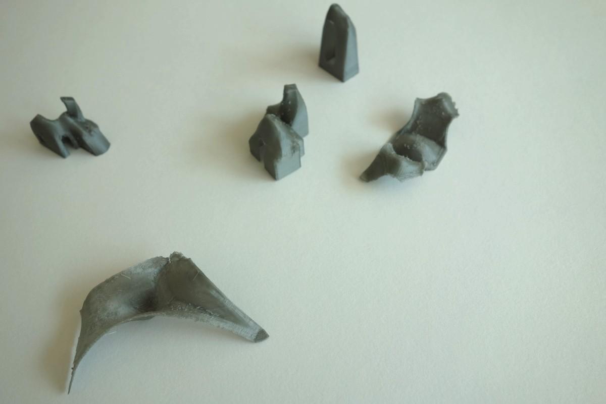 Maquettes 3D imprimées