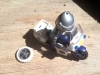 Réparation pneu playmobil