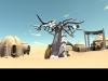 Rendu 3D village