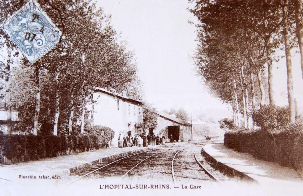 Source : Les Chemins du Passé, Les voies ferrées du canton de St-Symphorien-de-Lay