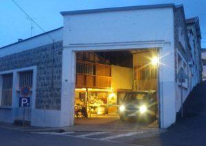 Garage de nuit